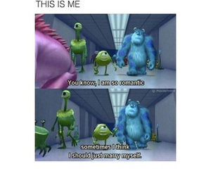 monsters inc., disney movie, and quote real talk image