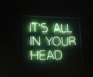 green, quotes, and neon image