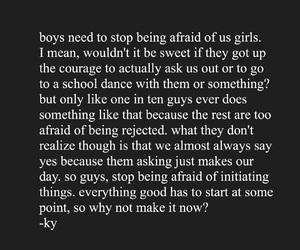 afraid, ask, and boys image