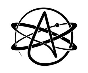 atheist and symbol image