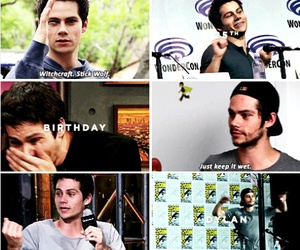 birthday, teen wolf, and dylan o'brien image