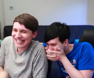 danisnotonfire, phan, and amazingphil image