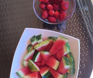food, fruit, and holliday image