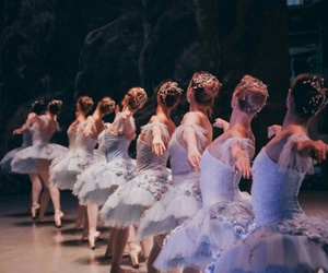 ballerina, stage, and ballet image
