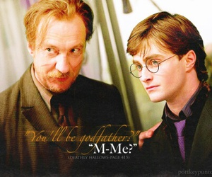 godfather, harry potter, and remus lupin image