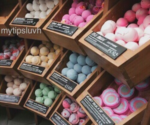 lush, bath, and cosmetics image