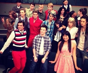 glee and rachel berry image