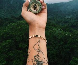 tattoo, travel, and adventure image