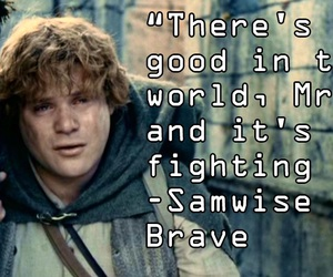lord of the rings, LOTR, and quote image