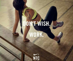 fitness, nike, and girl image