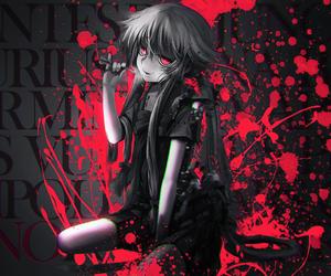 anime, mirai nikki, and yuno image