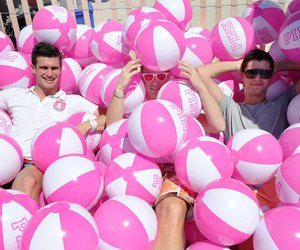 pink, boys, and summer image