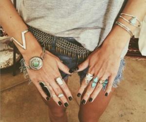 boho, bracelets, and photography image