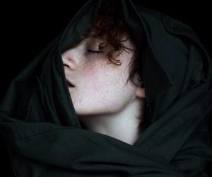 boy, dark, and pale image