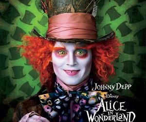 alice in wonderland, fandom, and johnny depp image