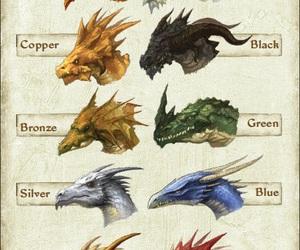fantasy and dragon image