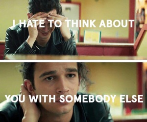 matty, somebody else, and the 1975 image