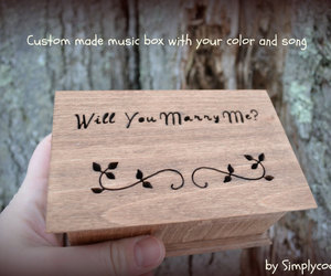 will you marry me and engagement ring box image