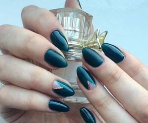 manicure, nail design, and matte image