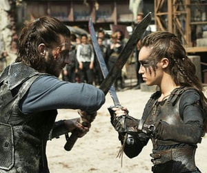 lexa, fight, and roan image