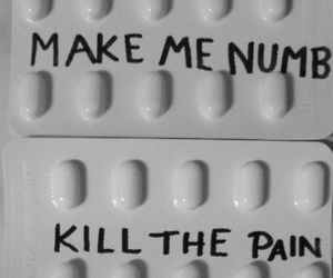 pills, pain, and scars image