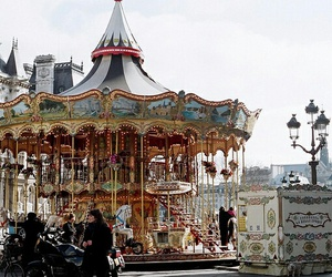 vintage and carousel image