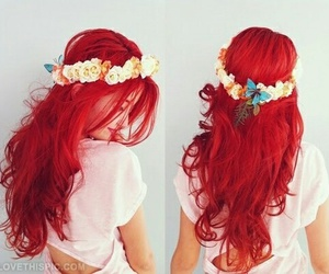 red hair image