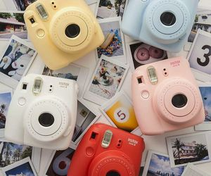 instax, camera, and photo image