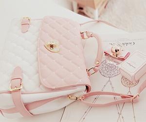 bag, pink, and girly image
