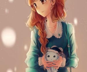 anime, anime girl, and kawai image