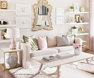 beige, living room, and decor image