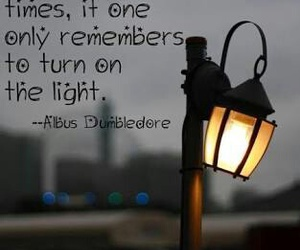 quote, harry potter, and light image