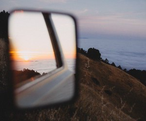 car, indie, and mountains image