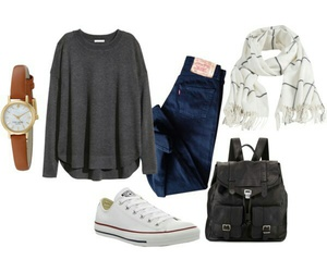 outfit, all star, and fashion image