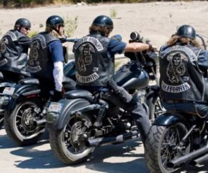harley davidson, sons of anarchy, and soa image