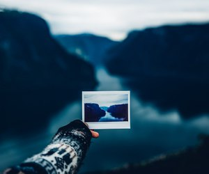nature, photography, and blue image