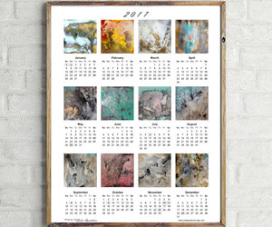 calendar, etsy, and christmas gifts image