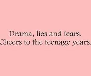 lies, drama, and tears image
