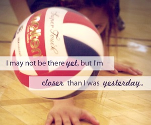 sport, quote, and volleyball image