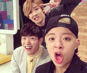 amber, eric nam, and kevin woo image