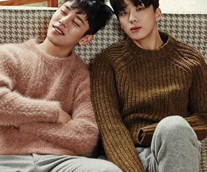 youngjae, daehyun, and b.a.p image