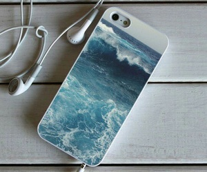 case, headphones, and iphone image
