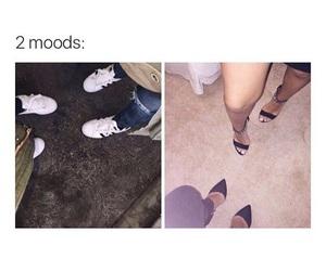 mood, adidas, and funny image