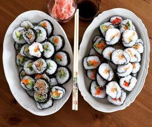 eats, sushi, and inspiration image