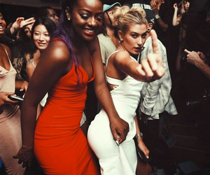 beauty, dress, and friends image