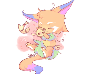 gnar, league of legends, and cute image