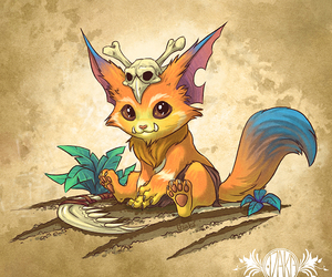 lol, gnar, and league of legends image