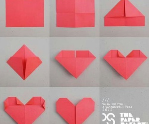 heart, diy, and Paper image