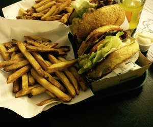 berlin, burger, and chips image