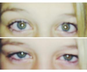 blonde, eye, and eyes image